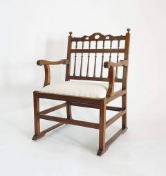 Pair of English North Country Drunkards Arm Chairs - 2027729