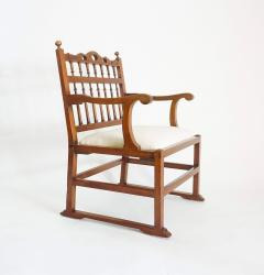 Pair of English North Country Drunkards Arm Chairs - 2027730