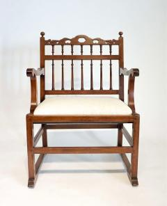 Pair of English North Country Drunkards Arm Chairs - 2027731