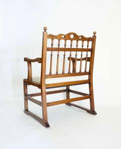 Pair of English North Country Drunkards Arm Chairs - 2027732