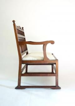 Pair of English North Country Drunkards Arm Chairs - 2027733