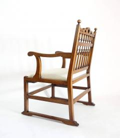 Pair of English North Country Drunkards Arm Chairs - 2027734