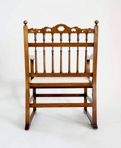 Pair of English North Country Drunkards Arm Chairs - 2027735