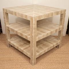 Pair of Faux Bois Side Tables - 1099938