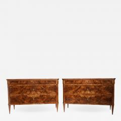 Pair of Fine Neoclassical Chests - 1582779