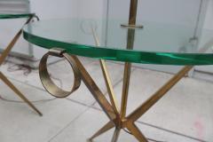 Pair of Floor Lamp Tables Attributed to Paul McCobb - 2053689