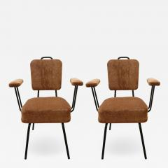 Pair of French 1950s Armchairs - 1203839
