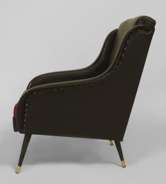 Pair of French 1950s Bergeres Armchairs  - 424922