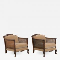 Pair of French 19th Century Louis XIV Style Armchairs - 1129747