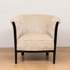 Pair of French Art Deco Armchairs salon chairs - 1744481