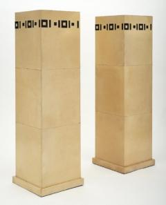 Pair of French Art Deco Pedestals - 929642