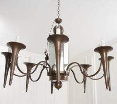 Pair of French Art Moderne Chandeliers - 1073350