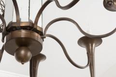 Pair of French Art Moderne Chandeliers - 1073352