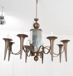 Pair of French Art Moderne Chandeliers - 1073353