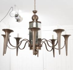 Pair of French Art Moderne Chandeliers - 1073354