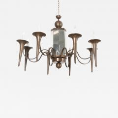 Pair of French Art Moderne Chandeliers - 1074374