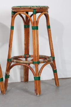 Pair of French Bistro Bar Stools - 1225872