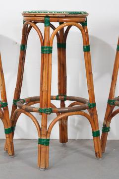 Pair of French Bistro Bar Stools - 1225873