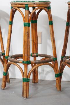 Pair of French Bistro Bar Stools - 1225875