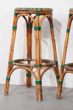 Pair of French Bistro Bar Stools - 1225876