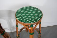 Pair of French Bistro Bar Stools - 1225878