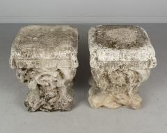 Pair Of French Cast Stone Garden Stools   662611