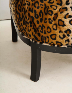 Pair of French Chairs with Leopard Fabric - 1539029