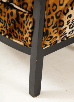 Pair of French Chairs with Leopard Fabric - 1539030