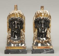 Pair of French Empire Head Bookends - 261716