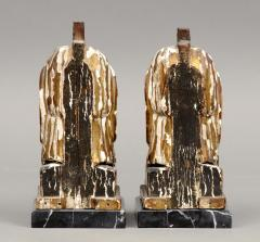 Pair of French Empire Head Bookends - 261718