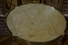 Pair of French Marble Top Gueridons - 355904