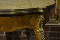 Pair of French Marble Top Gueridons - 355907