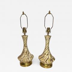 Pair of French Mid Century Table Lamps - 1085022