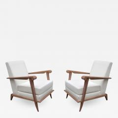 Pair of French Modernist Armchairs - 1141042