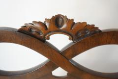 Pair of George II Style Carved Walnut Side Chairs England circa 1880 - 788792