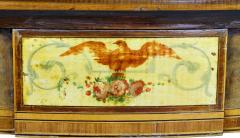 Pair of George III Amboyna and Paint Decorated Games Tables - 1521642
