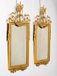 Pair of George III Giltwood and Gilt Composition Pier Mirrors - 272329