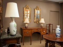 Pair of George III giltwood pier mirrors - 2037600