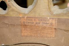 Pair of George III giltwood pier mirrors - 2037601