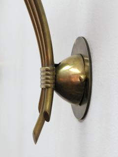 Pair of German Triple Arm Wall Lights - 692332