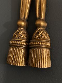 Pair of Gilt Bronze Sconces by Maison Charles - 1286056