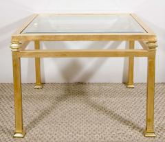 Pair of Gilt Iron Side Tables - 1099951