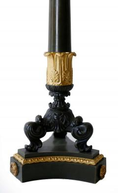 Pair of Gilt and Patinated Bronze Charles X Candelabra - 1739069