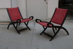 Pair of Gio Ponti Ninfea Folding Chairs for Brevetti Reguitti - 1999054