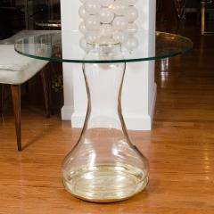 Pair of Glass Urn Form Base Tables - 251851
