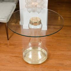 Pair of Glass Urn Form Base Tables - 251853