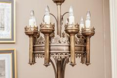 Pair of Gothic Style Chandeliers - 1205233