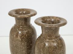 Pair of Gotland Limestone Vases - 757359