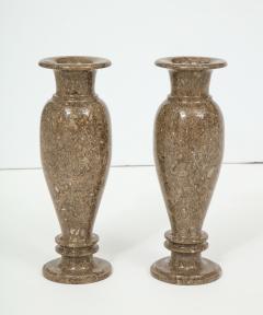 Pair of Gotland Limestone Vases - 757360