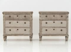 Pair of Gustavian Pair of Chests of Drawers - 1675048